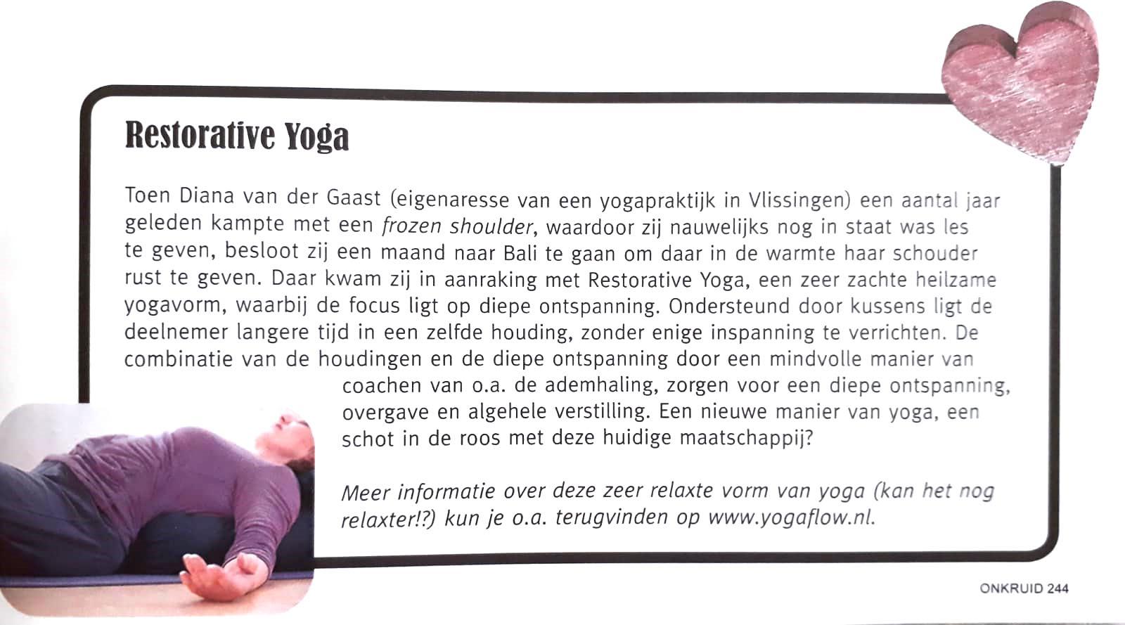 yogaflow restorative yoga